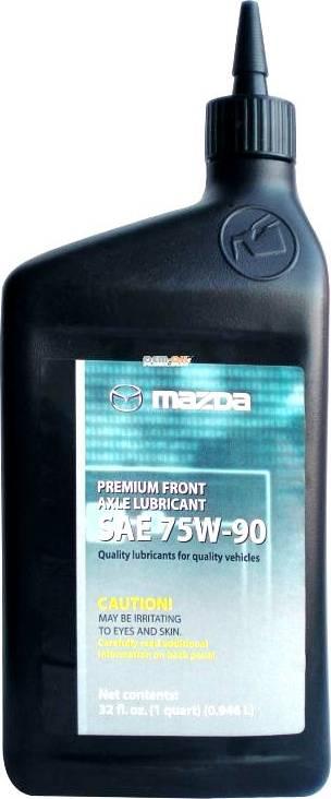 MAZDA 0000775W90QT - Масло, вспомогательный привод car-mod.com