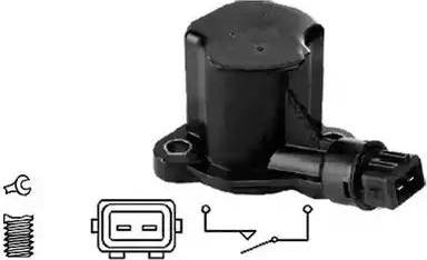 Meat & Doria 36031 - Датчик, контактный переключатель, фара заднего хода car-mod.com