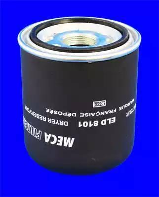 Mecafilter ELD8101 - Патрон осушувача повітря, пневматична система autocars.com.ua
