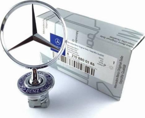 Mercedes-Benz A2108800186 - Эмблема радиатора car-mod.com