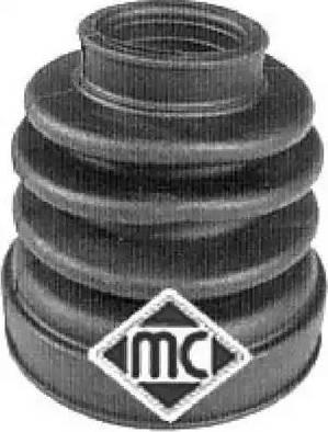 Metalcaucho 00030 - Пильник, приводний вал autocars.com.ua