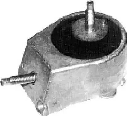 Metalcaucho 00702 - Подвеска, двигатель autodnr.net