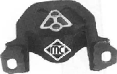 Metalcaucho 00728 - Подвеска, двигатель autodnr.net
