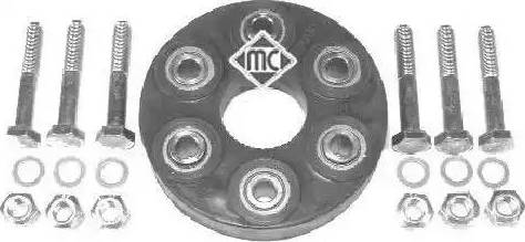 Metalcaucho 00735 - Эластичная муфта карданного вала car-mod.com