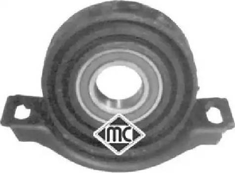 Metalcaucho 00949 - Підвіска, карданний вал autocars.com.ua