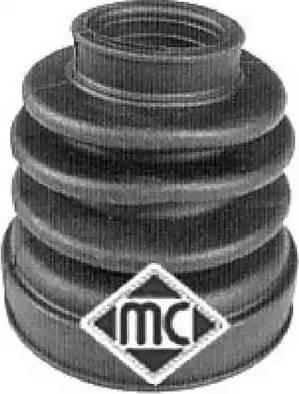Metalcaucho 01049 - Комплект пыльника, приводной вал car-mod.com