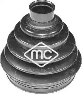 Metalcaucho 01157 - Комплект пылника, приводной вал autodnr.net