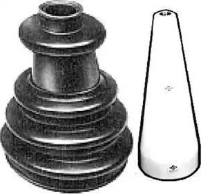 Metalcaucho 01483E - Комплект пылника, приводной вал autodnr.net