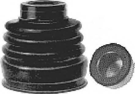 Metalcaucho 01583 - Комплект пылника, приводной вал autodnr.net