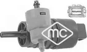 Metalcaucho 02061 - Водяной насос, система очистки окон car-mod.com