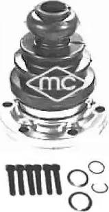 Metalcaucho 02308 - Комплект пылника, приводной вал autodnr.net