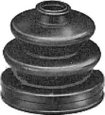 Metalcaucho 02374 - Комплект пылника, приводной вал autodnr.net