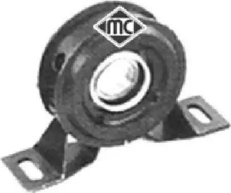 Metalcaucho 02802 - Підвіска, карданний вал autocars.com.ua