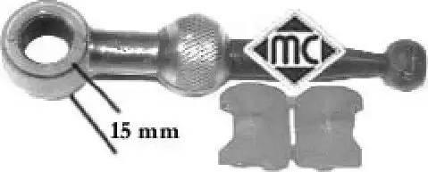 Metalcaucho 02883 - Ремкомплект, рычаг переключения car-mod.com