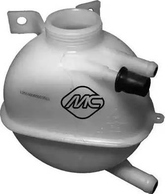 Metalcaucho 03511 - Компенсационный бак, охлаждающая жидкость autodnr.net