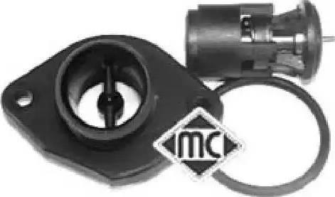 Metalcaucho 03592 - Термостат, охлаждающая жидкость autodnr.net