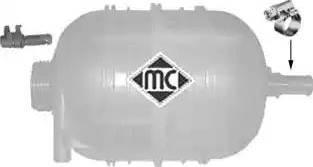 Metalcaucho 03656 - Компенсаційний бак, охолоджуюча рідина autocars.com.ua