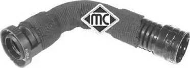 Metalcaucho 03833 - Трубка, клапан возврата ОГ autodnr.net