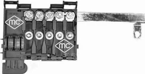 Metalcaucho 03887 - Розетка предохранителей car-mod.com