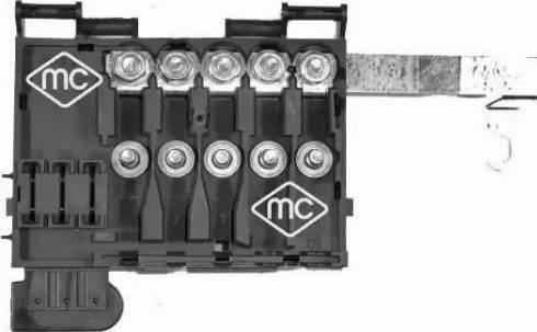 Metalcaucho 03888 - Розетка предохранителей car-mod.com