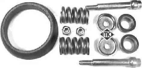 Metalcaucho 04041 - Комплект прокладок, система выпуска ОГ autodnr.net