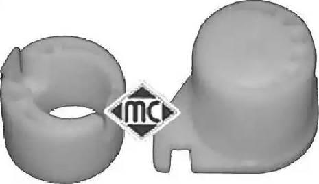 Metalcaucho 04043 - Направляющая гильза, система сцепления avtokuzovplus.com.ua