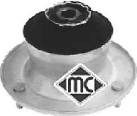 Metalcaucho 04228 - Опора стойки амортизатора, подушка car-mod.com