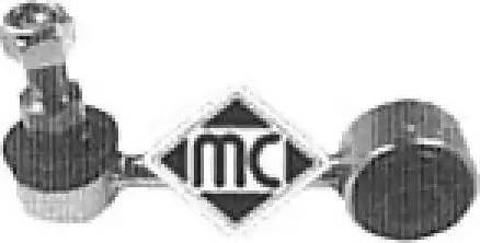 Metalcaucho 04335 - Тяга / стойка, стабилизатор autodnr.net