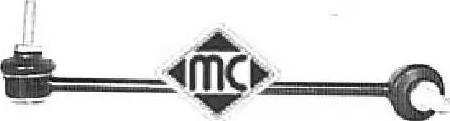 Metalcaucho 04343 - Тяга / стійка, стабілізатор autocars.com.ua