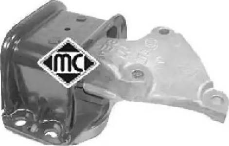Metalcaucho 04433 - Подушка, підвіска двигуна autocars.com.ua