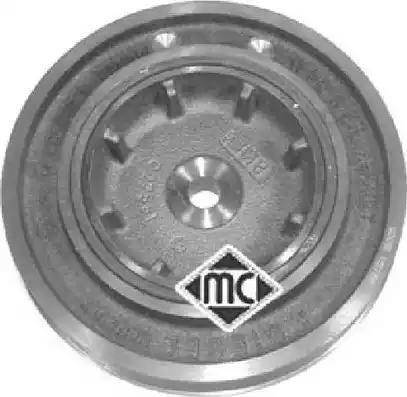Metalcaucho 04455 - Ремінний шків, колінчастий вал autocars.com.ua