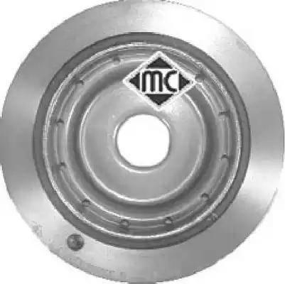 Metalcaucho 04465 - Ременный шкив, коленчатый вал car-mod.com