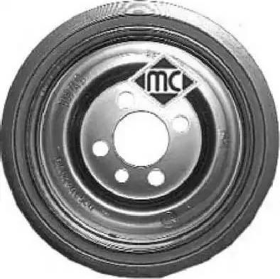 Metalcaucho 04496 - Ременный шкив, коленчатый вал autodnr.net