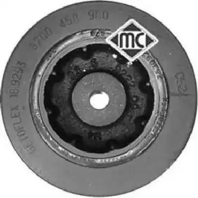 Metalcaucho 04577 - Ременный шкив, коленчатый вал autodnr.net