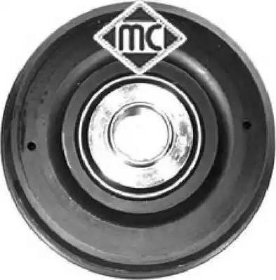 Metalcaucho 04585 - Ремінний шків, колінчастий вал autocars.com.ua