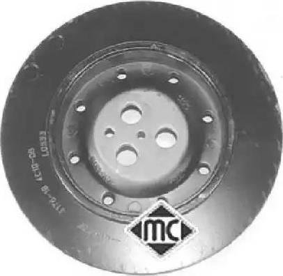 Metalcaucho 04816 - Ременный шкив, коленчатый вал autodnr.net