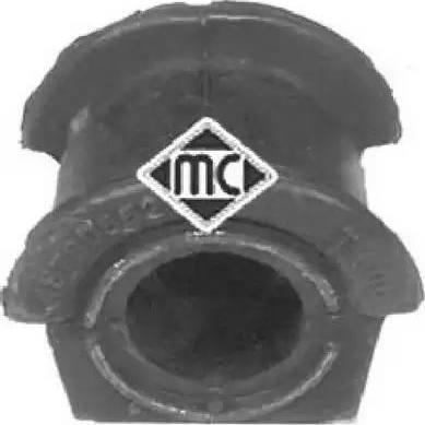 Metalcaucho 04955 - Втулка стабілізатора, нижній сайлентблок autocars.com.ua