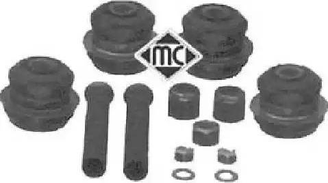 Metalcaucho 05011 - Монтажный комплект, рычаг независимой подвески колеса autodnr.net