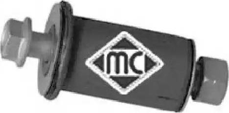 Metalcaucho 05037 - Ремкомплект, направляющий, маятниковый рычаг car-mod.com