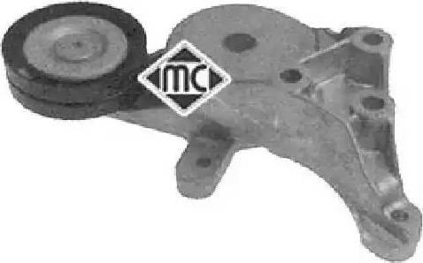 Metalcaucho 05039 - Натяжитель ремня, клиновой зубча autodnr.net