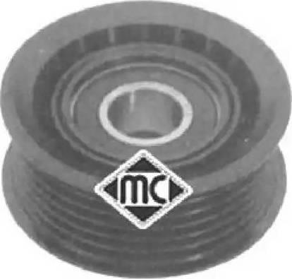 Metalcaucho 05046 - Паразитный / ведущий ролик, поликлиновой ремень autodnr.net