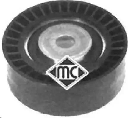 Metalcaucho 05075 - Натяжна ролик, поліклинові ремінь autocars.com.ua