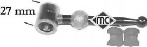 Metalcaucho 05095 - Ремкомплект, рычаг переключения car-mod.com