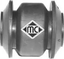 Metalcaucho 05334 - Сайлентблок, рычаг подвески колеса car-mod.com