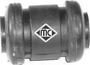 Metalcaucho 05343 - Сайлентблок, рычаг подвески колеса car-mod.com