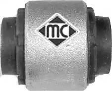 Metalcaucho 05362 - Сайлентблок, рычаг подвески колеса car-mod.com