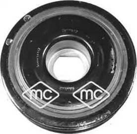 Metalcaucho 05651 - Ременный шкив, коленчатый вал car-mod.com