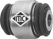 Metalcaucho 05866 - Сайлентблок, рычаг подвески колеса car-mod.com