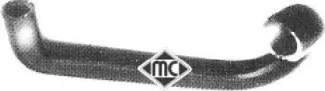 Metalcaucho 07529 - Шланг радиатора autodnr.net