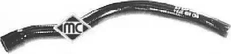 Metalcaucho 08393 - Шланг, теплообменник - отопление car-mod.com